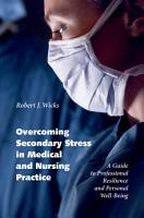 Overcoming Secondary Stress in Medical and Nursing Practice PDF