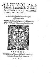 De doctrina Platonis liber