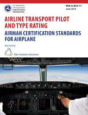 Airline Transport Pilot And Type Rating Airman Certification Standards For Airplane