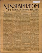 Newspaperdom: Volume 8, Issue 21