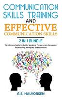 COMMUNICATION SKILLS TRAINING and EFFECTIVE COMMUNICATION SKILLS 2 IN 1 BUNDLE PDF