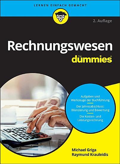 Rechnungswesen f  r Dummies PDF