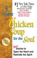 A 4th Course of Chicken Soup for the Soul PDF