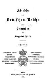 Jahrbücher des Deutschen Reichs unter Heinrich II.