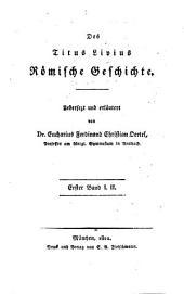 Römische Geschichte: I. II.. 1
