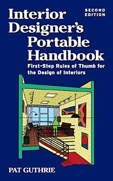 Interior Designer s Portable Handbook 2 E PDF