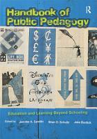 Handbook of Public Pedagogy PDF