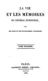 La vie et les mémoires du Général DuMouriez: 3