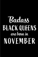 Badass Black Queens Are Born in November