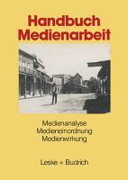 Handbuch Medienarbeit PDF