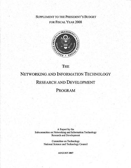 Networking and Information Technology Research and Development PDF