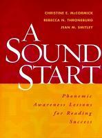 A Sound Start PDF