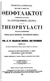 Patrologiae cursus completus: omnium SS. patrum, doctorum scriptorumque ecclesiasticorum, sive latinorum, sive graecorum. [Series graeca], Τόμος 123