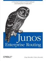 JUNOS Enterprise Routing PDF