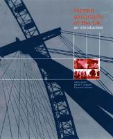 Human Geography of the UK PDF