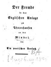 Der Fremde in der Englischen Anlage zu Thannhausen an der Mindel: Eine Idylle