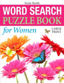 Word Search Puzzle Book for Women (Large Print)