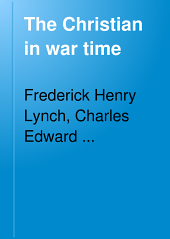 The Christian in war time