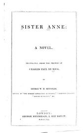 Sister Anne: a novel