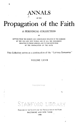 Annals of the Propagation of the Faith: Volume 68
