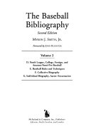 The Baseball Bibliography PDF