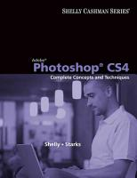Adobe Photoshop CS4  Complete Concepts and Techniques PDF