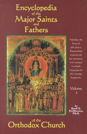 Encyclopedia of the Major Saints and Fathers of the Orthodox Church PDF