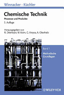 Winnacker K  chler  Chemische Technik PDF
