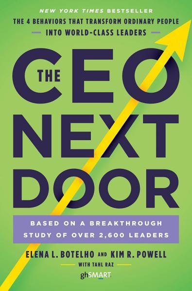 Download The CEO Next Door Book