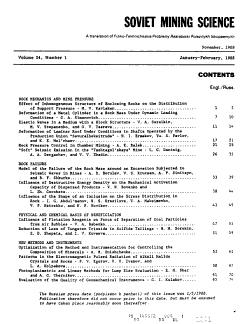Soviet Mining Science PDF