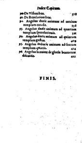 Lux Animae Ad perfectionem anhelantis: Opvscvlvm Insigniter pium, et perfectionis studiosis neceßarium, Volume 4