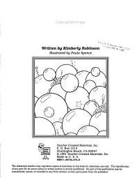 Bubbles Thematic Unit