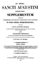 Patrologiae latina cursus completus ... series prima: Volume 47