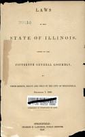 Laws of the State of Illinois PDF