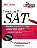 Cracking the SAT 2003 PDF
