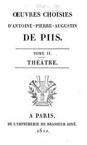 Œuvres choisies: Théâtre