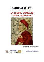 La divine comédie — volume 2 — Le purgatoire