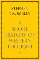 A Short History of Western Thought PDF