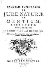 De jure naturae et gentium, libri octo