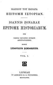 Ioannis Zonarae Epitome historiarum: Τόμοι 1-2;Τόμος 203