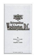The Insiders  Guide to Metro Washington  D  C  PDF