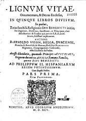 Lignum vitae, ornamentum et decus Ecclesiae...