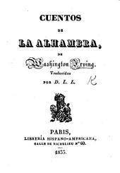 Cuentos de la Alhambra. Traducidos por D. L. L.