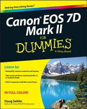 Canon EOS 7D Mark II For Dummies PDF