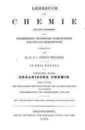 Lehrbuch der Chemie für den Unterricht auf Universitäten: bd. Organische chemie