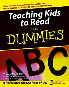 Teaching Kids to Read For Dummies Book