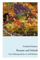 Rostam und Sohrab: Eine Heldengeschichte in zwölf Büchern - Neuausgabe