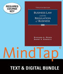 Business Law and the Regulation of Business   Mindtap Business Law  1 Term 6 Months Printed     Access Card Book