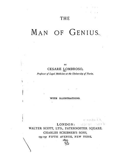 Download The Man of Genius Book