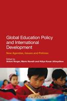 Global Education Policy and International Development PDF